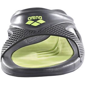 arena Hydrofit Hook Sandalias Hombre, black/black/green